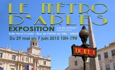 Project visual Le Métro d'Arles
