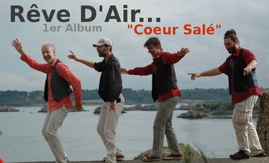 Project visual Rêve d'Air 1er Album