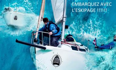 Project visual L'Eskipage - Course Croisière Edhec