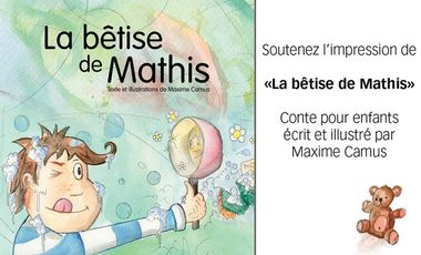 Project visual La bêtise de Mathis