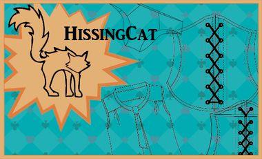 Project visual Lancement de la marque Hissing Cat