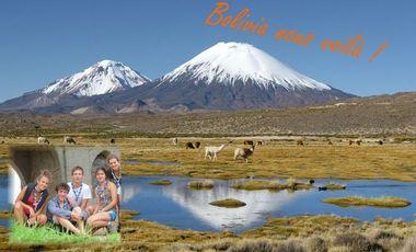 Visueel van project Bolivia nous voilà!