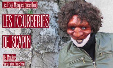 Visueel van project Les fourberies de Scapin 2015