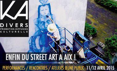 Project visual ENFIN DU STREET ART A AIX !