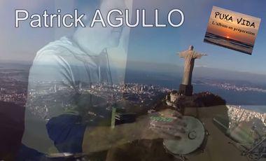 """Visuel du projet Patrick Agullo l'album """"Puxa Vida"""" hommage au Brésil"""