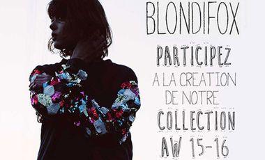 Visueel van project Blondifox, collection Automne Hiver 2015-16