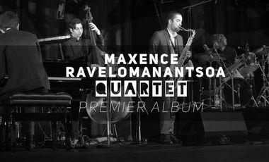 Visuel du projet Maxence Ravelomanantsoa Quartet - PREMIER ALBUM !
