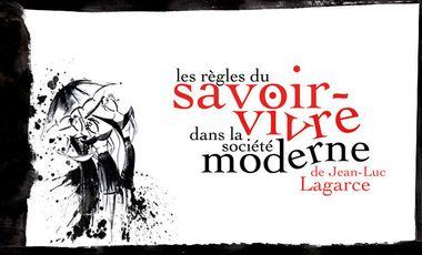Project visual Les Règles du savoir-vivre dans la société moderne - Collectif Lophophore