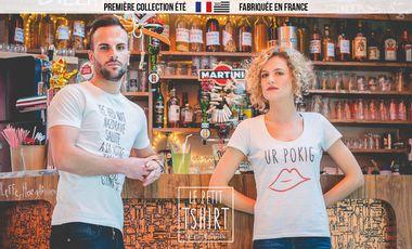 Visuel du projet Le Petit Tshirt. Collection Été fabriquée en France