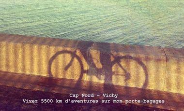 Visuel du projet On The Road : Rallier le Cap Nord à Vichy en vélo