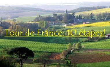 Project visual Vivez le Tour de France d'une étudiante!