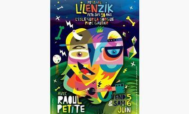 Visuel du projet Festival Lilenzik avec Raoul Petite