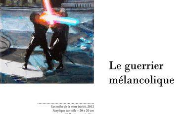 Visueel van project Le guerrier mélancolique