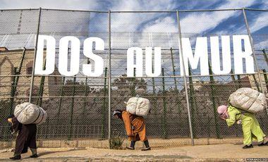 Project visual Dos au mur : Melilla, porte de l'Europe