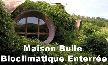 Visuel du projet Maison Bulle Bioclimatique Enterrée