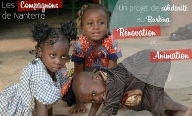 Project visual projet solidaire au Burkina