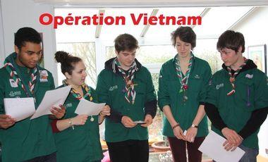 Project visual Opération Vietnam : Projet de solidarité International