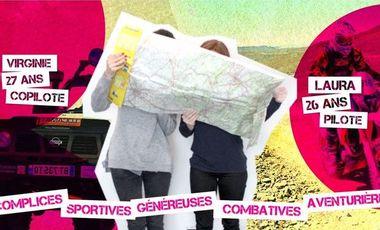 Project visual Embarquez avec les Raid'Dingues au Trophée Roses des Sables 2015 !