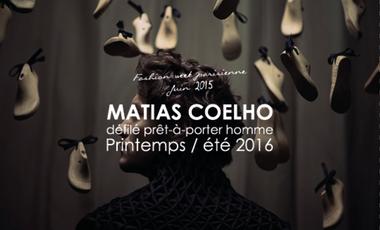 Visuel du projet MATIAS COELHO - Défilé Prêt-à-Porter Homme Printemps/Été 2016
