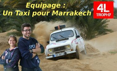 Visueel van project 4L Trophy - Un taxi pour Marrakech
