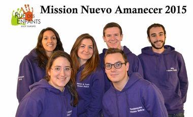 Visuel du projet Mission Nuevo Amanecer 2015
