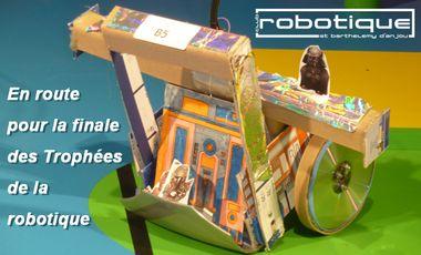Visueel van project En route pour la finale des trophées de la robotique