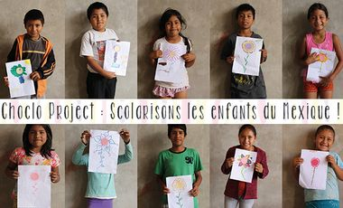 Visueel van project Choclo Project : Free the creativity of the Mexican children.