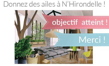 Visueel van project N'Hirondelle prend son envol !