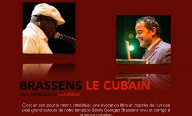 """Project visual Financement du CD """"BRASSENS LE CUBAIN"""" par Jean SANGALLY et Isel RASUA"""