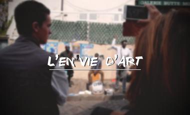 Project visual L'En'Vie d'Art