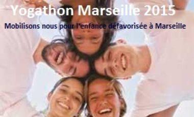 Visuel du projet Yogathon Marseille 2015