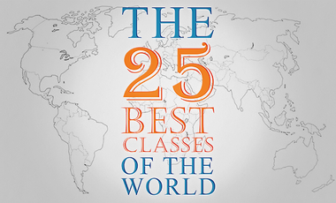 Project visual Open the 25 best classes of the world