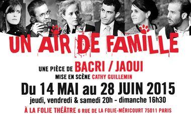 Project visual UN AIR DE FAMILLE... Un peu, beaucoup, À LA FOLIE Théâtre