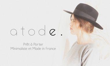 Visueel van project Atode - Prêt à porter Minimaliste et Made in France