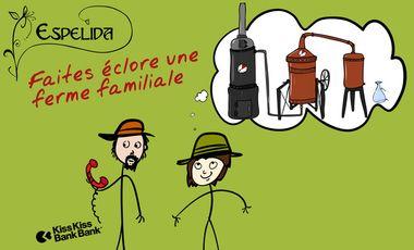 Visueel van project Espelida, faites éclore une ferme familiale