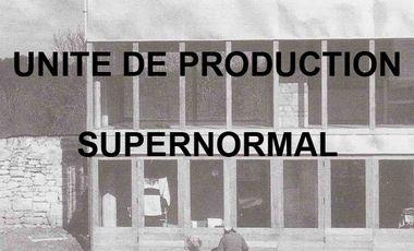 Project visual Unité de Production_SUPERNORMAL_Publication 2015