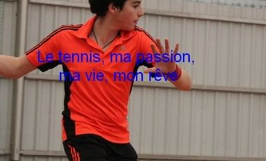Project visual Le Tennis, ma passion, ma vie, mon rêve