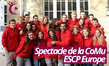 Visuel du projet Spectacle de la CoMu ESCP Europe