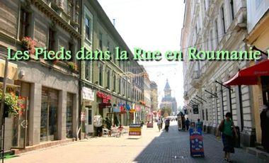 Project visual Les Pieds dans la Rue en Roumanie !