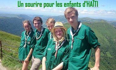 Visueel van project un sourire pour les enfants d'Haïti