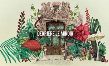 Project visual Derrière le miroir
