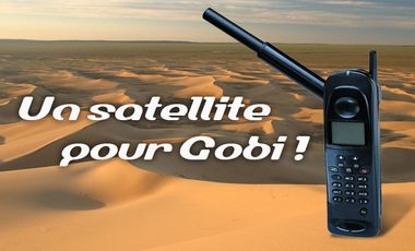 Visueel van project Un satellite pour Gobi !