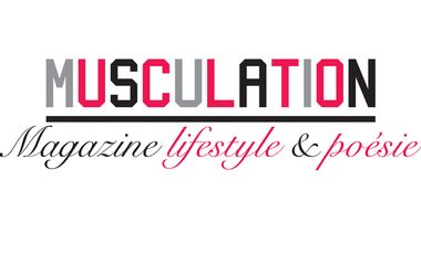 Visueel van project Musculation, magazine lifestyle et poésie