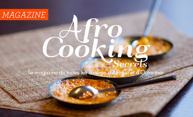 Project visual Afro Cooking Magazine