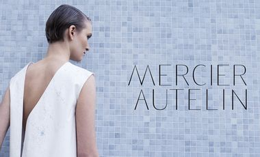 """Project visual Mercier Autelin / Prêt à porter créateur en """"circuit court"""""""