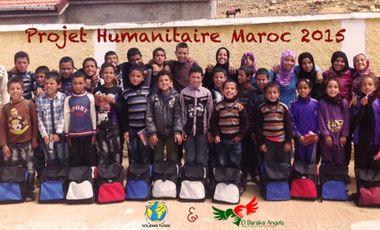 Visueel van project Une nouvelle école pour les Enfants Marocains d'Ifrane