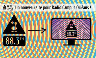 Visueel van project Un nouveau site web pour radio Campus Orléans