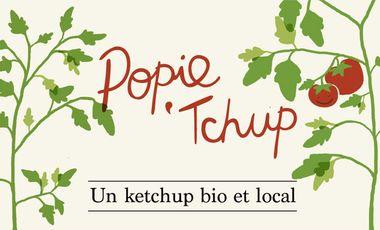 Visueel van project Popie'tchup? Une sauce tomate bio et locale!