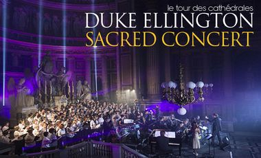 Visueel van project tournée DUKE ELLINGTON SACRED CONCERT