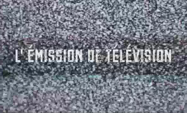 Project visual L'Emission de Télévision - Michel Vinaver